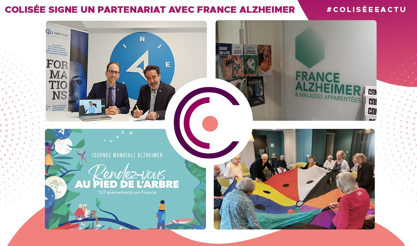 Colisée signe un partenariat avec France Alzheimer